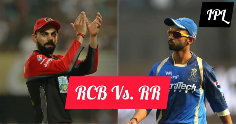 RCB Vs RR – Pitch Reports & Past Records. IPL12