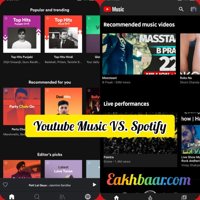 Youtube Music & Spotify Changed The Way Of Listening  Songs In India